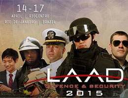 ULIRvision participou LAAD Defence & Security 2015 no Brasil